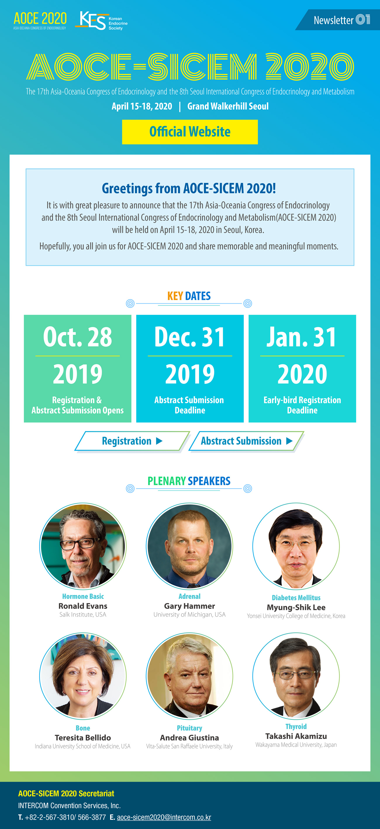 The 17th Asia-Oceania Congress of Endocrinology and the 8th